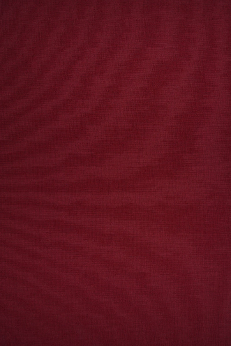 KNT3700 -BURGUNDY  SOLID KNIT