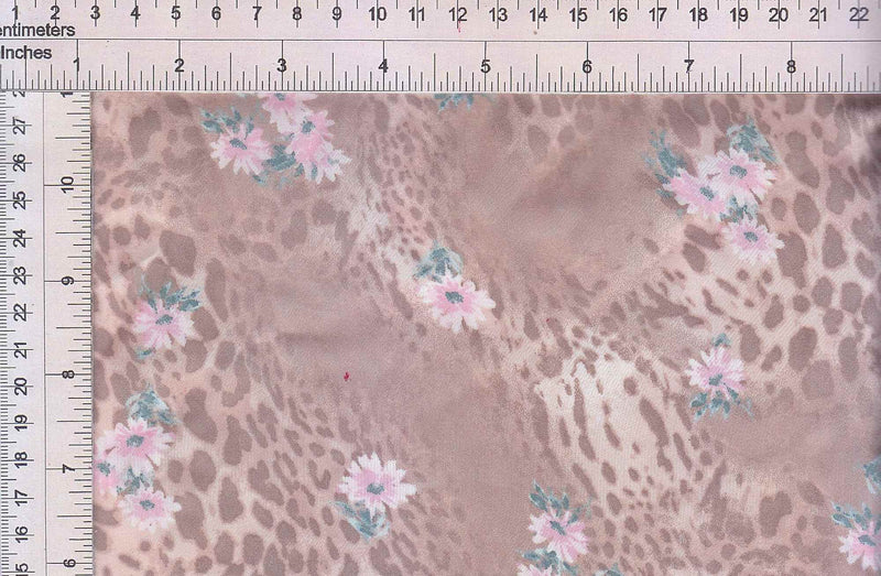 POP3709-MS91159 -ROSE  PRINT WOVEN