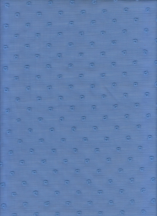 HIMLT-4220 -BLUE  SOLID WOVEN