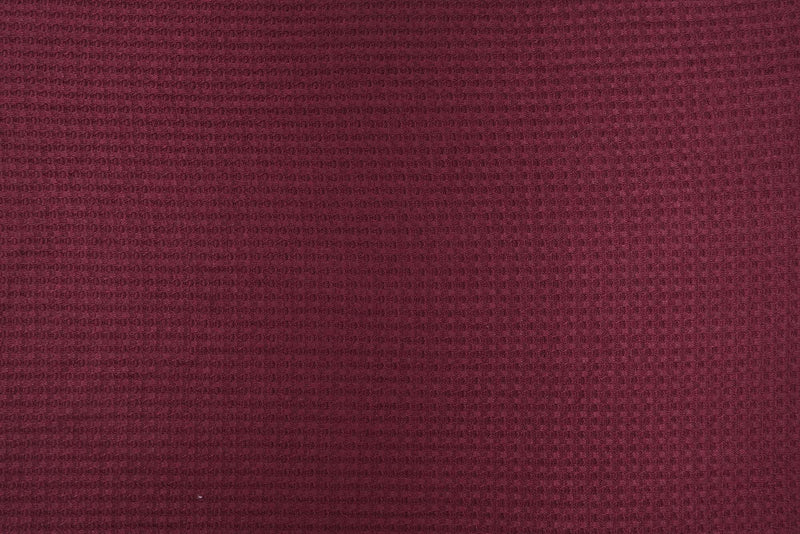 KNT3634 -WINE  SOLID KNIT