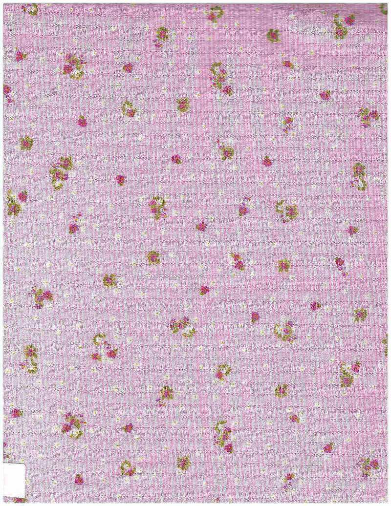 KNT3359-MS00302 -PINK LT  POINTELLE, PRINT KNIT
