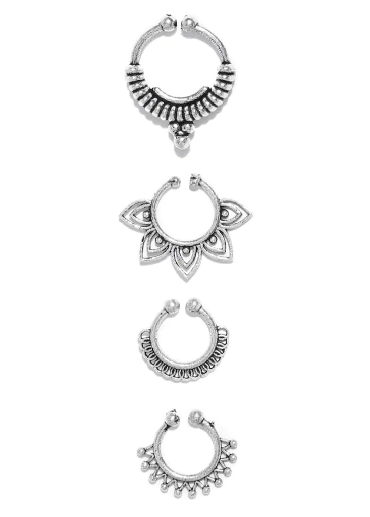 SEPTUM RING (SET OF 4)