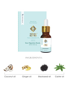Daily Digestion Dose and Healthy Hair Belly Button Oils