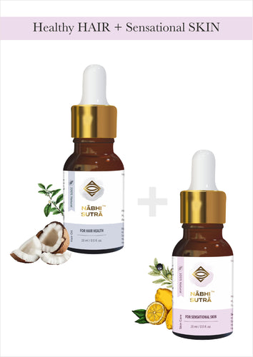 Healthy Hair and Sensational Skin Belly Button Oils