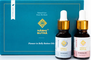 Healthy Hair and Menstrual Pain Relief Belly Button Oils