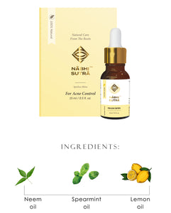 Acne Control - Belly Button Oil