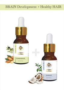 Brain Development (KIDS) & Healthy Hair Belly Button Oils