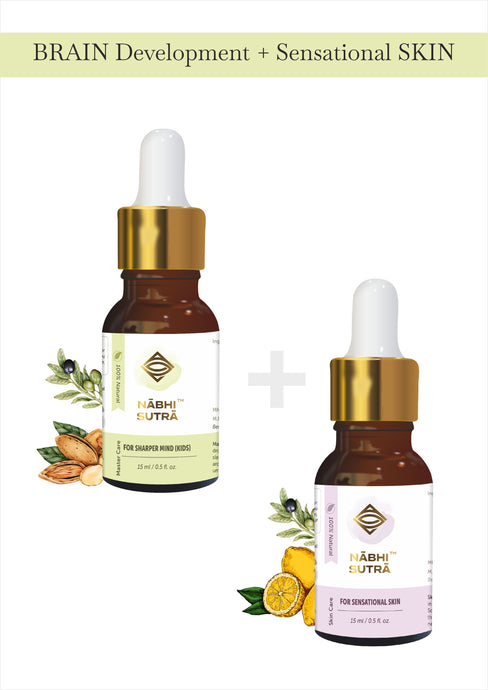 Brain Development (KIDS) & Sensational Skin Belly Button Oils