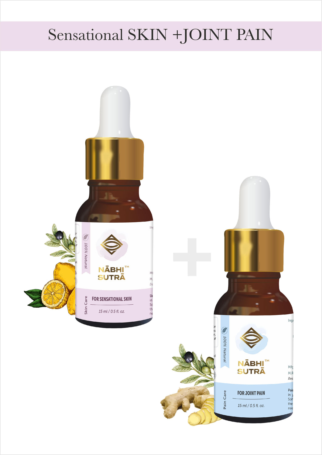 Sensational Skin and Joint Pain Relief Belly Button Oils