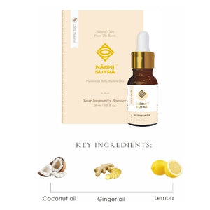 In-Built Immunity Booster - Belly Button Oil