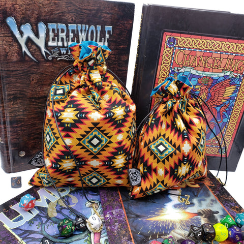 Custom Southwest Diamonds Dice Bag