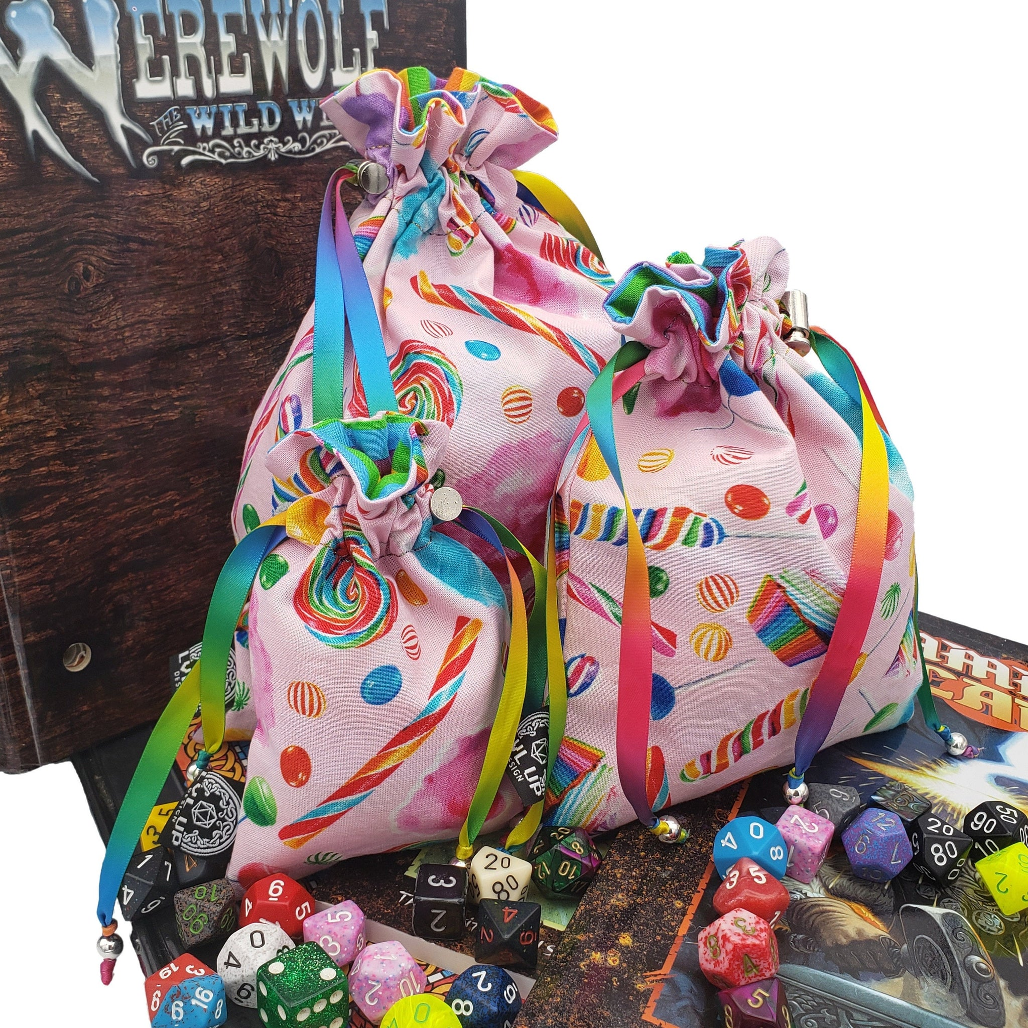 Custom Sugar Sweet Dice Bags