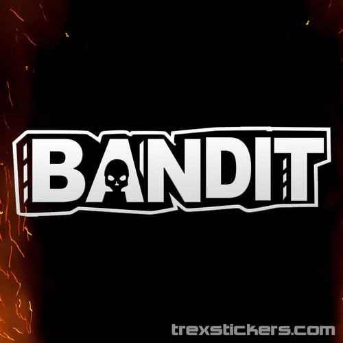 Bandit Borderlands Vinyl Sticker