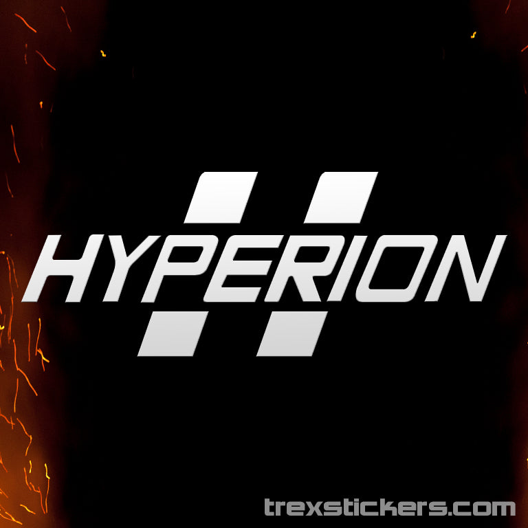 Hyperion Borderlands Vinyl Sticker