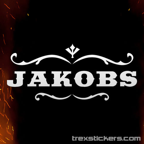 Jakobs Borderlands Vinyl Sticker