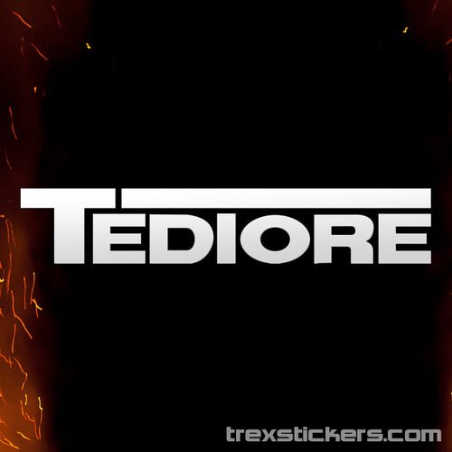 Tediore Borderlands Vinyl Sticker