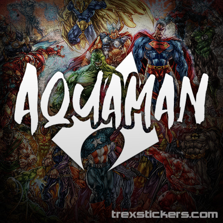 Aquaman Vinyl Sticker