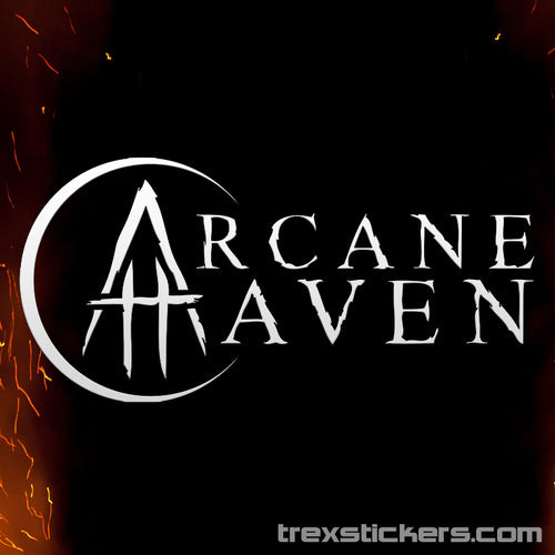 Arcane Haven Vinyl Sticker