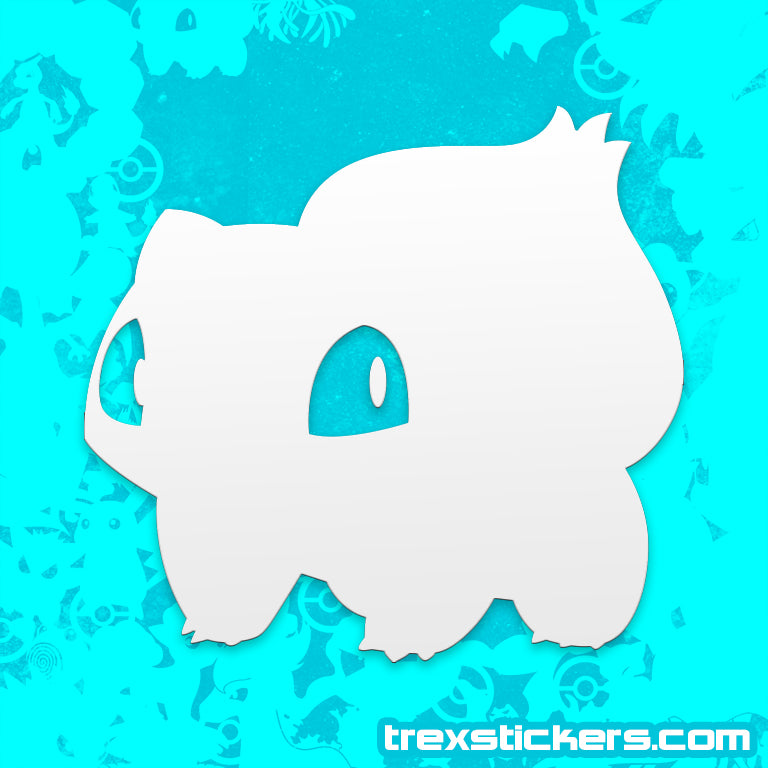 Bulbasaur Pokemon Vinyl Sticker