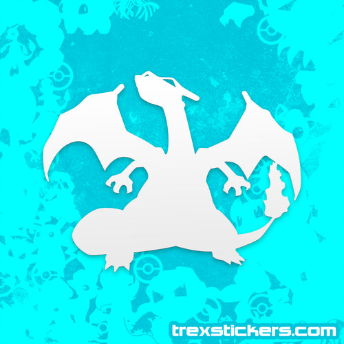 Charizard Vinyl Sticker