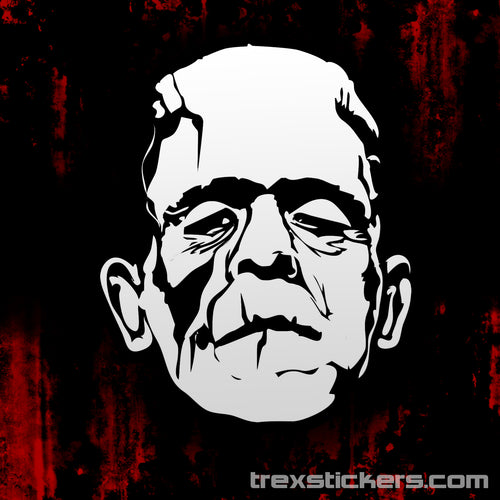 Frankenstein's Monster Vinyl Sticker