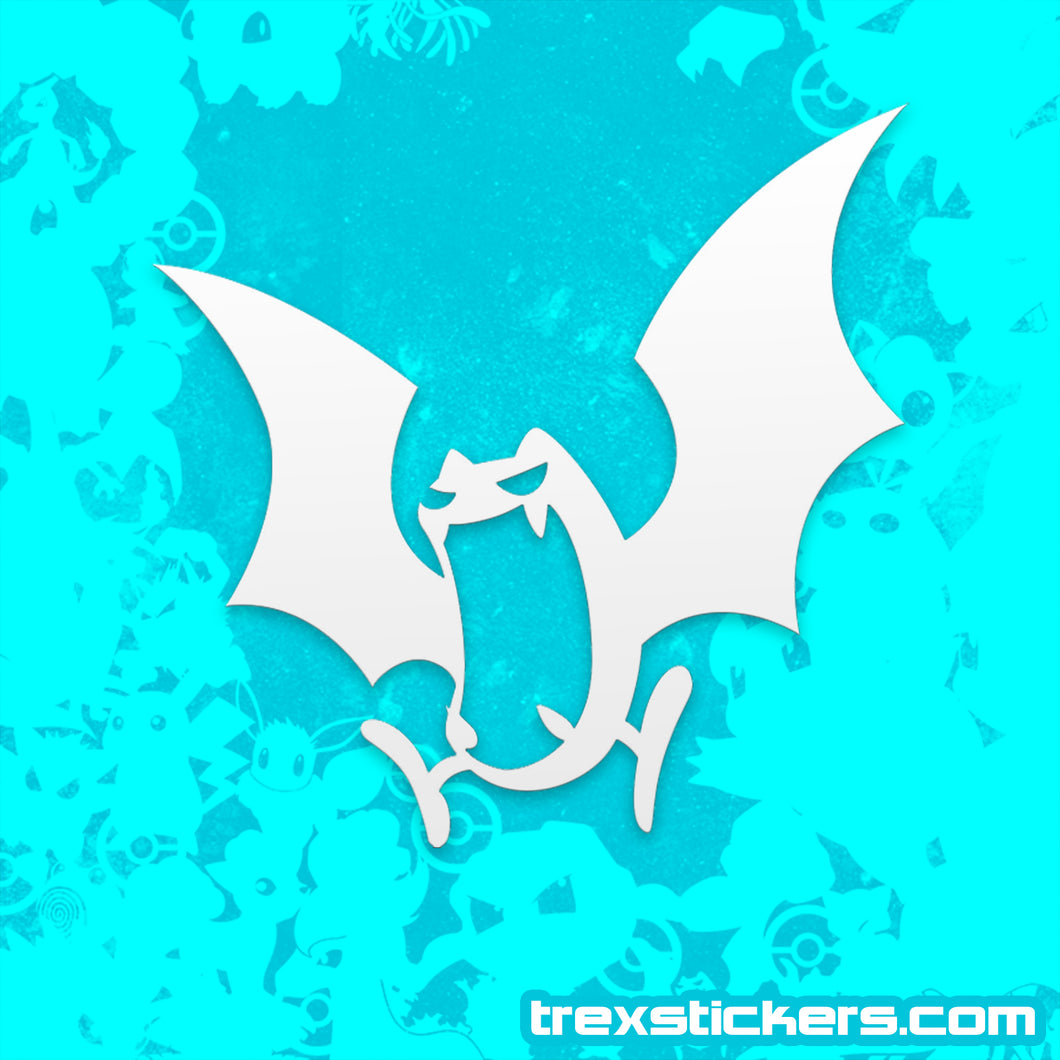 Golbat Pokemon Vinyl Sticker