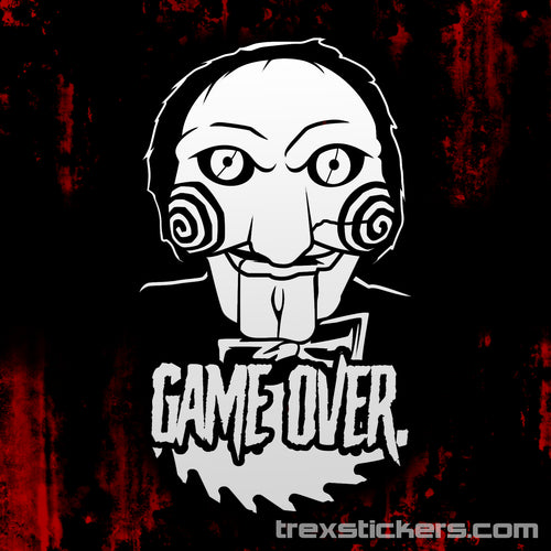 Jigsaw Vinyl Sticker