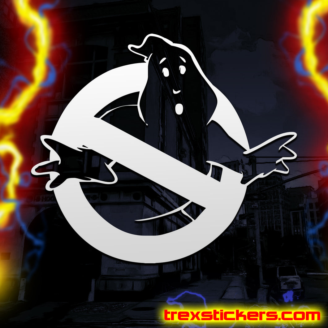 Ghostbusters Logo Vinyl Sticker