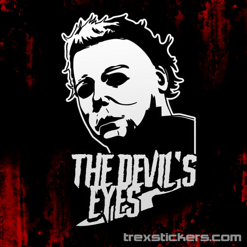 Michael Myers Halloween Vinyl Sticker