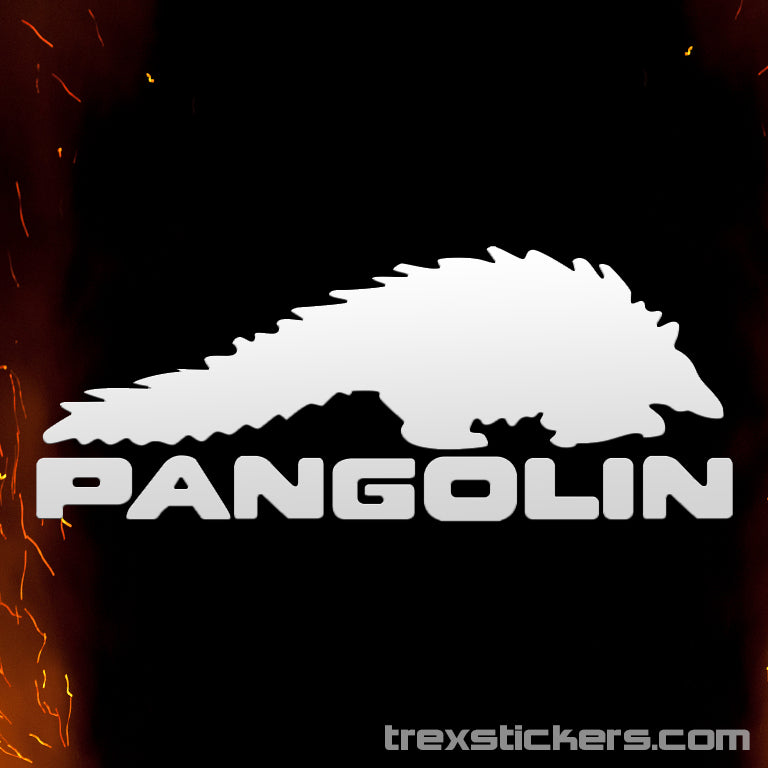 Pangolin Borderlands Vinyl Sticker
