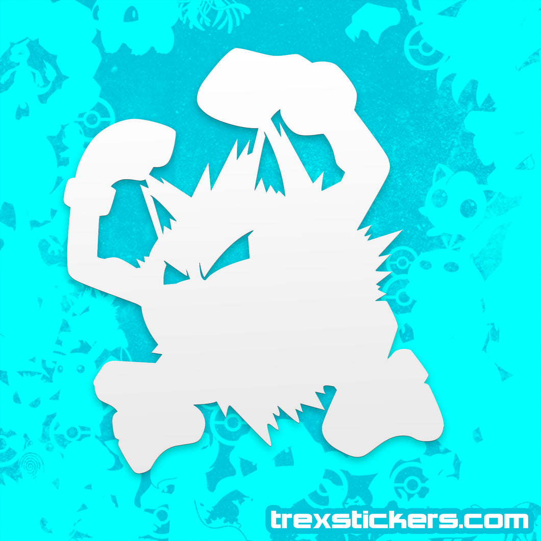 Primeape Pokemon Vinyl Sticker