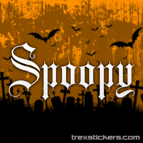 Spoopy Vinyl Sticker