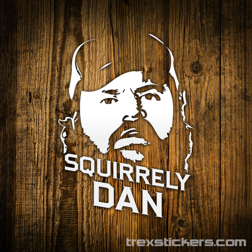 Squirrely Dan Letterkenny Vinyl Sticker