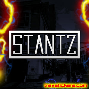 Stantz Ghostbusters Vinyl Sticker