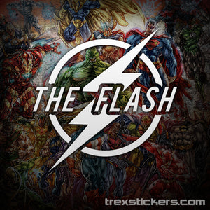 The Flash Vinyl Sticker