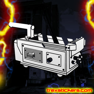 Ghost Trap Ghostbusters Vinyl Sticker