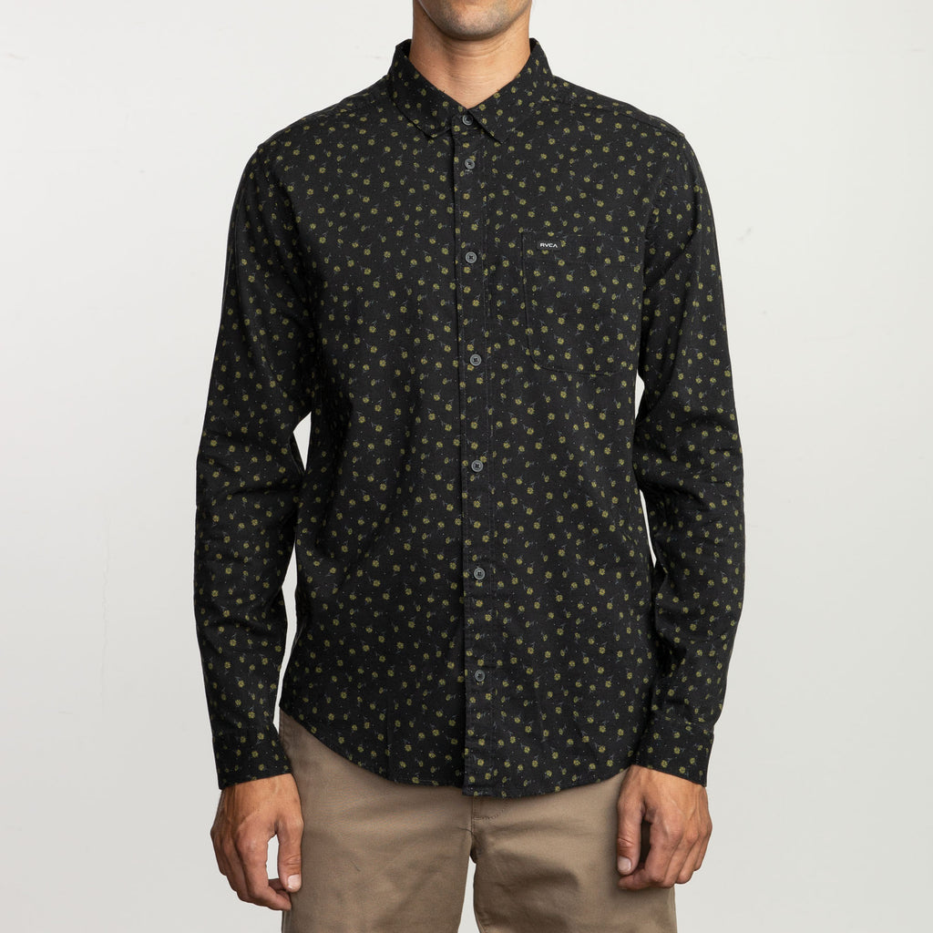 RVCA - Prelude Floral Shirt - SUB6 LIFE - SURF SCHOOL AND SURF LESSONS PORTRUSH