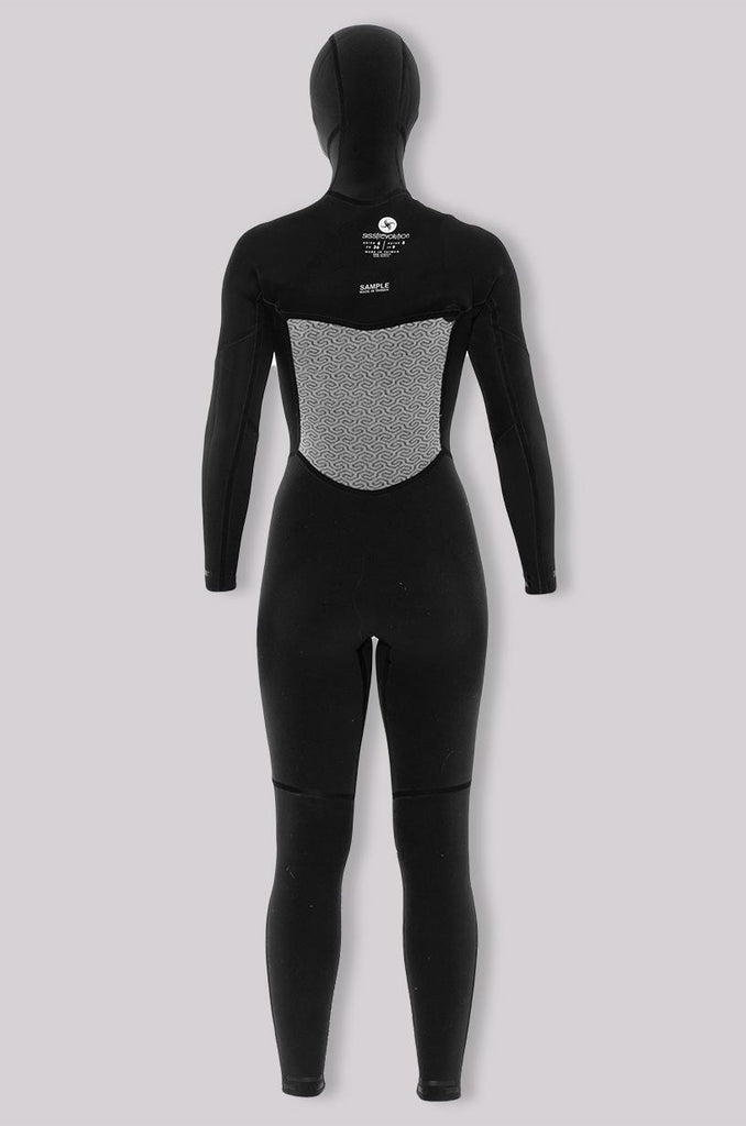 Sisstr - 7 Seas 5/4 Hooded Chest Zip Full Hooded - SUB6 LIFE - SURF SCHOOL AND SURF LESSONS PORTRUSH