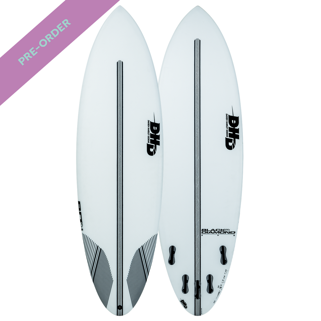 DHD - EPS Core Series Black Diamond FCS - SUB6 LIFE - SURF SCHOOL AND SURF LESSONS PORTRUSH