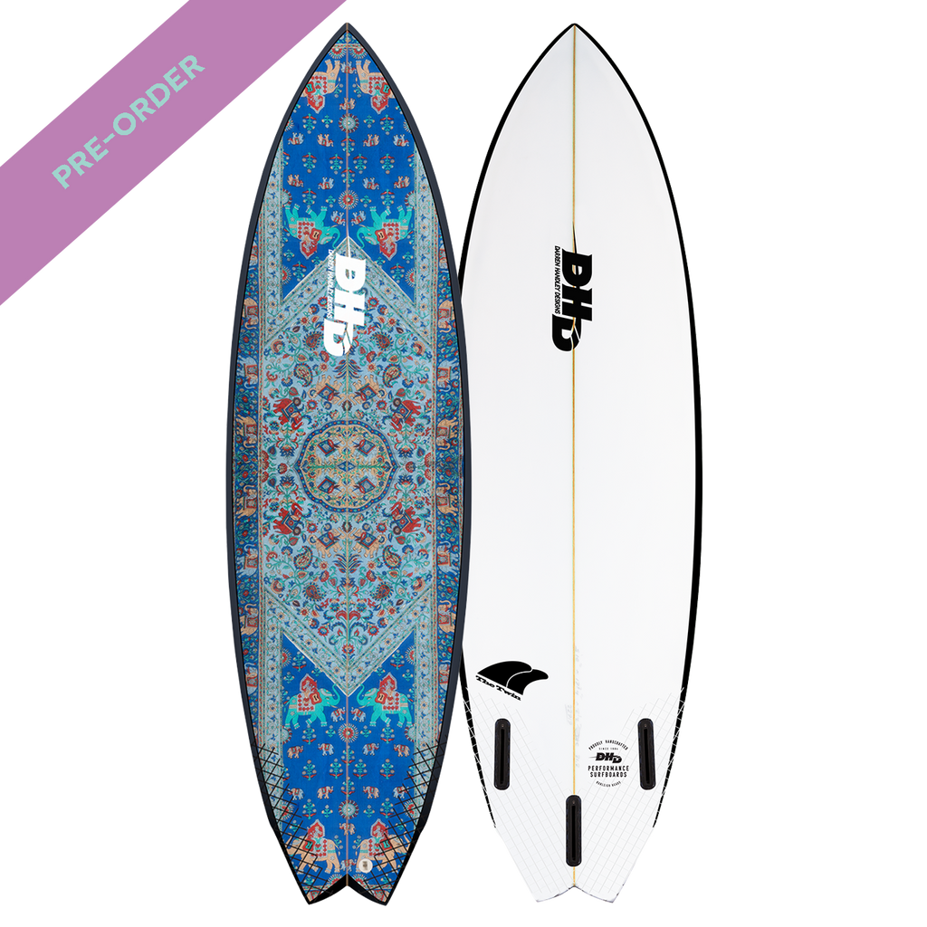 DHD - Summer Series Twin Fin Mandala - SUB6 LIFE - SURF SCHOOL AND SURF LESSONS PORTRUSH