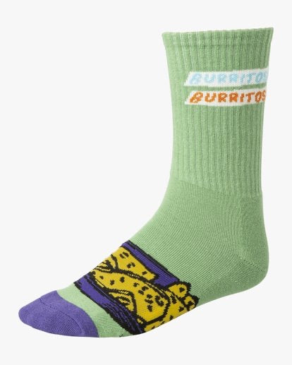 RVCA - Hot Fudge Crew Sock