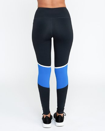 RVCA - VA Levels Leggings Cobalt - SUB6 LIFE - SURF SCHOOL AND SURF LESSONS PORTRUSH