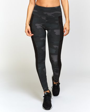 RVCA - Atomic Leggings (Camo) - SUB6 LIFE - SURF SCHOOL AND SURF LESSONS PORTRUSH