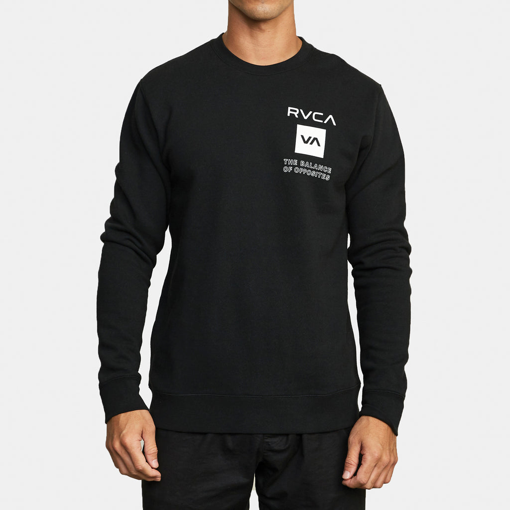 RVCA - VA Sport Graphic Sweatshirt - Black