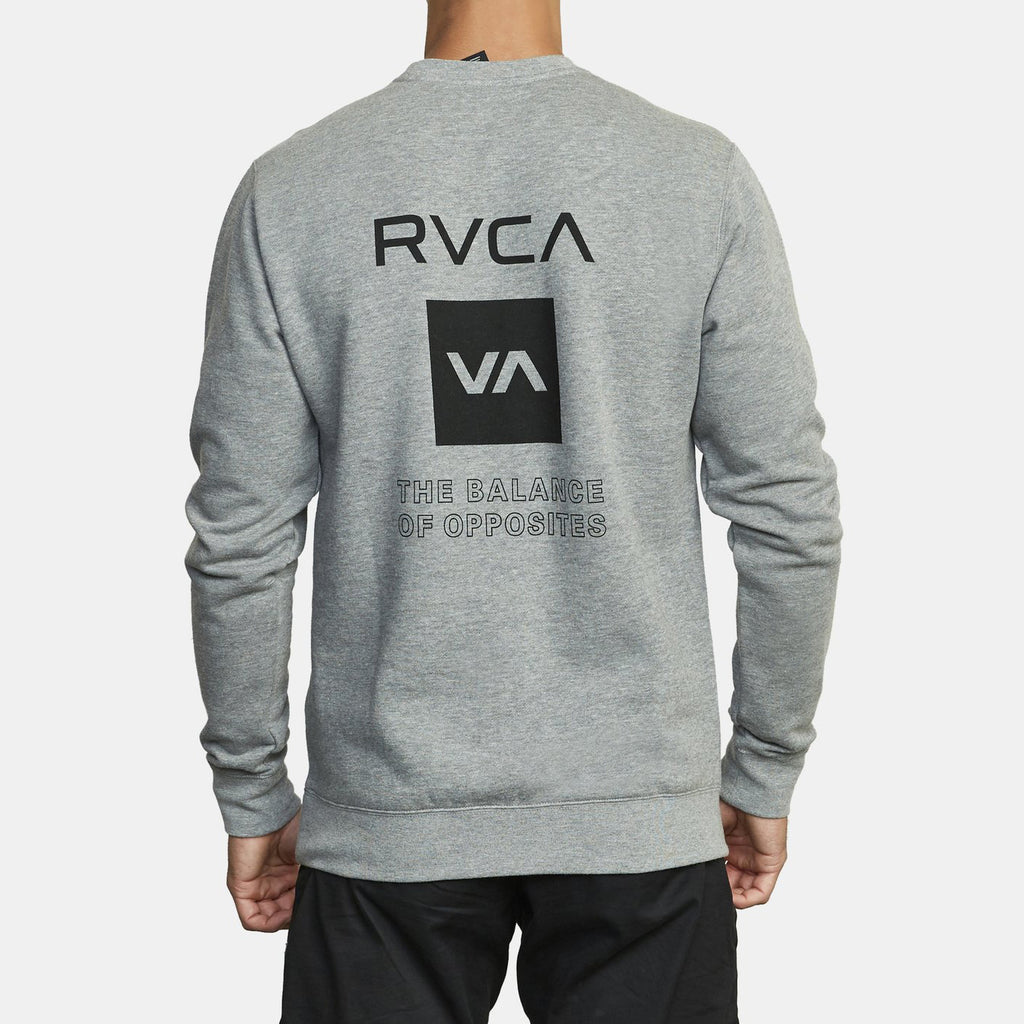 RVCA - VA Sport Graphic Sweatshirt - Grey