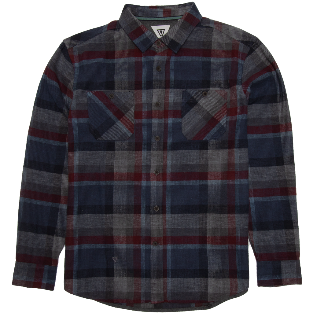 Vissla - Ashbury Flannel Shirt - SUB6 LIFE - SURF SCHOOL AND SURF LESSONS PORTRUSH