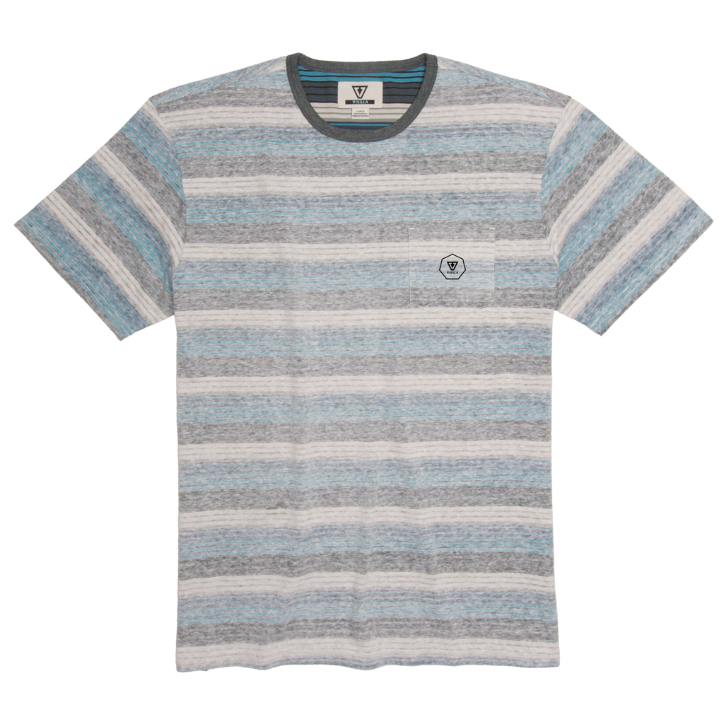Vissla - Trails SS Pocket Knit Tee - SUB6 LIFE - SURF SCHOOL AND SURF LESSONS PORTRUSH