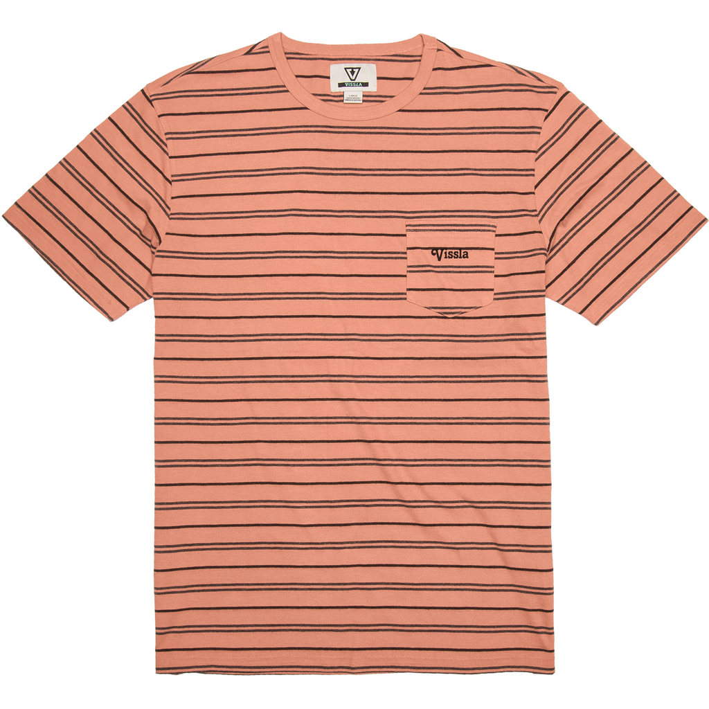 Vissla - Graves II SS Knit Tee - SUB6 LIFE - SURF SCHOOL AND SURF LESSONS PORTRUSH