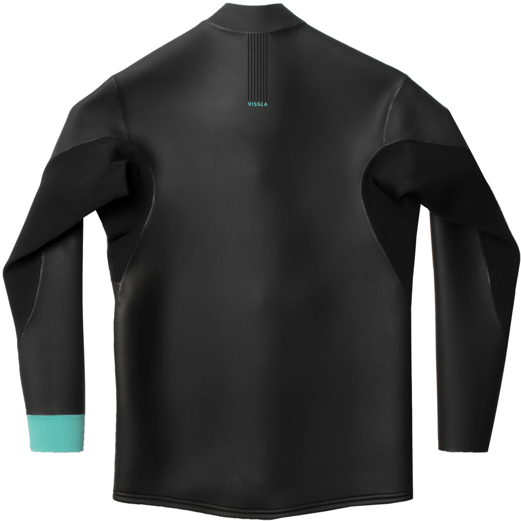 Vissla - North Seas 2mm Smoothy Front Zip Jacket - SUB6 LIFE - SURF SCHOOL AND SURF LESSONS PORTRUSH