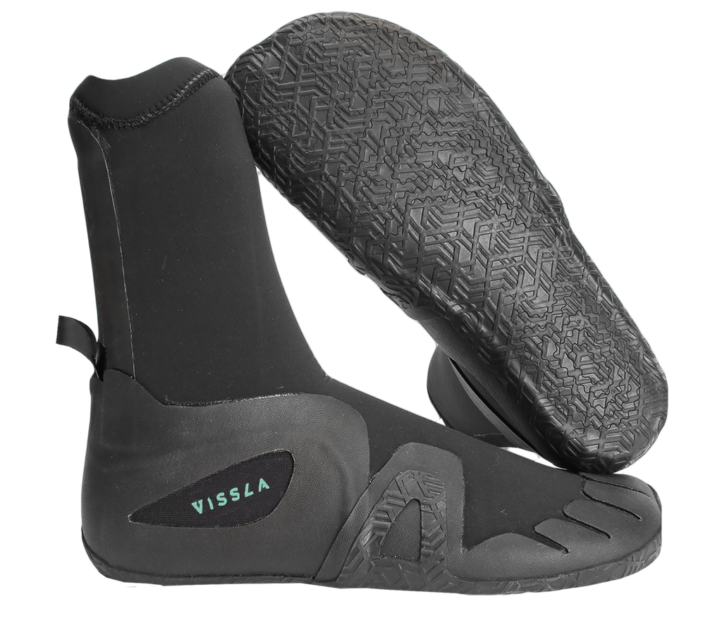 Vissla - Seven Seas 5mm Round Toe Bootie - SUB6 LIFE - SURF SCHOOL AND SURF LESSONS PORTRUSH